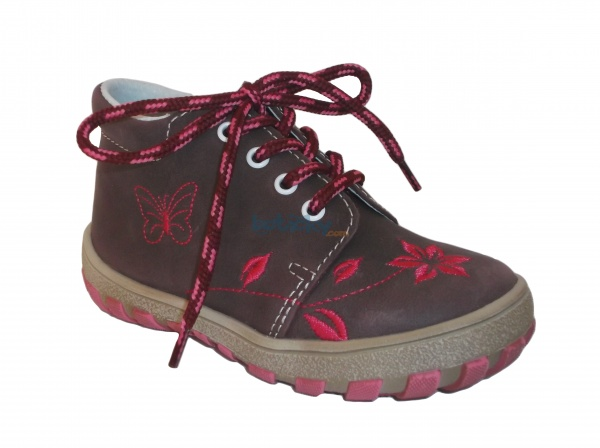 064c1ad39ea0b Jonap J022/M květ vínová, dětská celoroční obuv | Dětská obuv ...