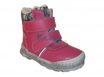 Zvětšit Pegres - 1702 růžová, zimní obuv, 02