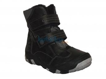 Zvětšit Kornecki 4163 CZARNY, chlapecká zimní obuv s membránou