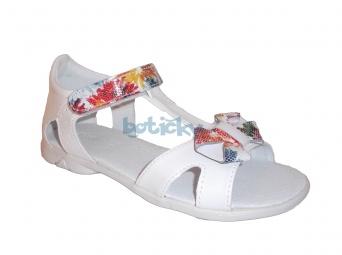 Zvětšit Kornecki 4752 bílé, dívčí letní sandály