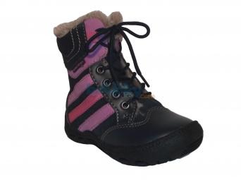 Zvětšit Protetika - Alex navy, dívčí zimní obuv