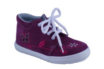 Zvětšit Jonap J022/S květ vínová, dětská celoroční obuv