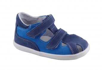 Zvětšit Jonap - J041/S modrá mix, chlapecké letní boty