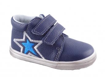 Zvětšit Jonap J022/M/V hvězda modrá, 00 dětská celoroční obuv