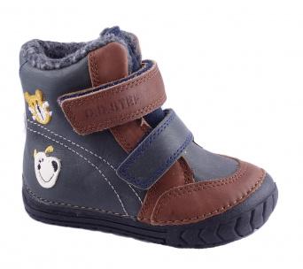 Zvětšit D.D.Step - 029-304B blue, chlapecká zimní obuv