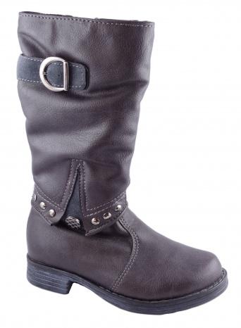 Zvětšit Kornecki 4175 M/SZARY, dívčí zimní obuv