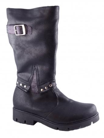 Zvětšit Kornecki 6005 W/CZARNY, dívčí zimní obuv