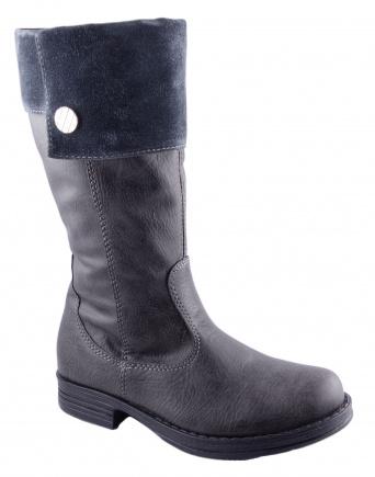 Zvětšit Kornecki 4360 GRAFIT, dívčí zimní obuv