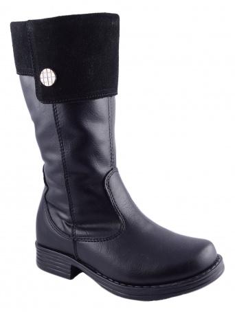 Zvětšit Kornecki 4360 CZARNY, dívčí zimní obuv