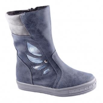 Zvětšit Kornecki 4821 GRANAT, dívčí zimní obuv