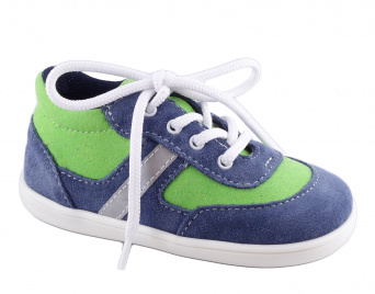 Zvětšit Jonap J051/S light modrá/zelená, celoroční obuv