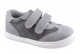 Zvětšit Jonap J053/M šedá třpyt, celoroční obuv 01
