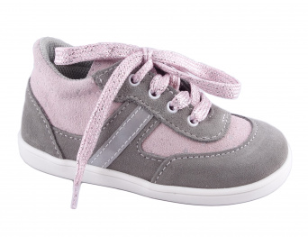 Zvětšit Jonap J051/S-light šedá/růžová třpyt, celoroční obuv