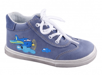 Zvětšit Jonap J011/M letadlo - modrá, dětská celoroční obuv