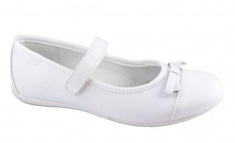 Zvětšit Kornecki 4687 bílá, dívčí balerína