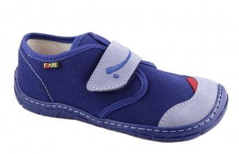 Zvětšit Fare 5211402 modrá, celoroční obuv barefoot