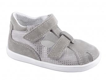 Zvětšit Jonap - J041/S-Light šedá třpyt, dívčí letní boty