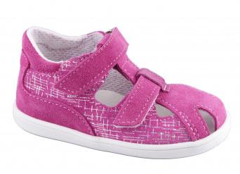 Zvětšit Jonap - J041/S-Light růžová-devon, dívčí letní boty