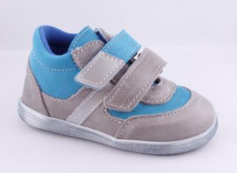 Zvětšit Jonap J051/M/V light šedá/tyrkys, celoroční obuv