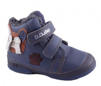 Zvětšit D.D.Step - 038-867 blue, chlapecká zimní obuv