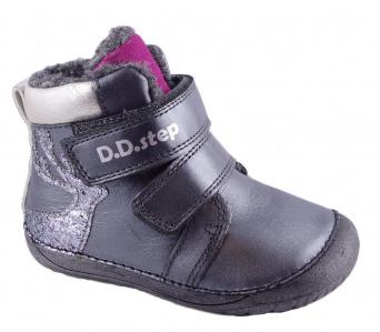 Zvětšit D.D.Step - 070-755A black, dívčí zimní obuv