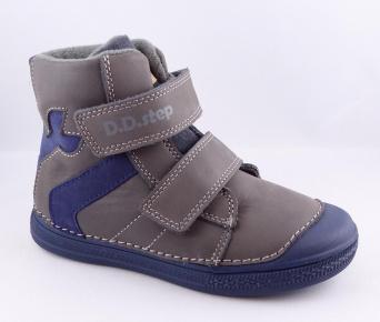 Zvětšit D.D.Step - 049-359AM grey-LED, chlapecká zimní obuv