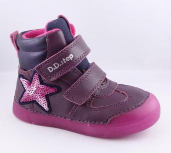 Zvětšit D.D.Step - 068-642EM violet, dívčí zimní obuv