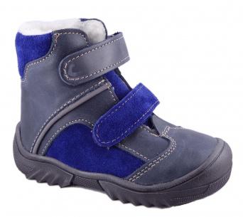 Zvětšit Jonap - J055/M modrá mix, chlapecká zimní obuv