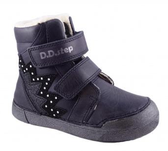 Zvětšit D.D.Step - 068-286AM violet, dívčí zimní obuv