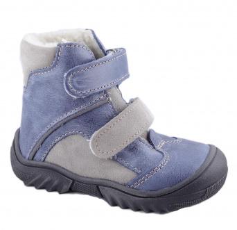 Zvětšit Jonap - J055/M modrá/šedá, chlapecká zimní obuv