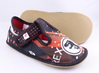 Zvětšit Ef barefoot 395 CZARNY TREX