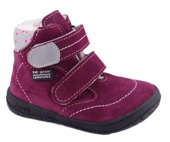 Zvětšit Jonap J-B5 vínová, dětská zimní obuv s membránou
