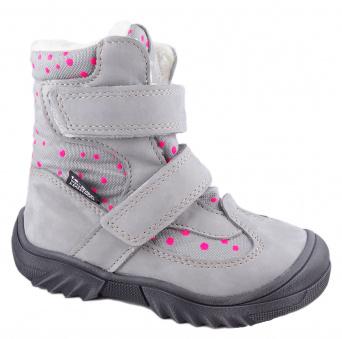 Zvětšit Jonap - J024/N šedá puntík, 01 dívčí zimní obuv s membránou