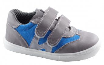 Zvětšit Jonap J053/M šedá/tyrkys, celoroční obuv