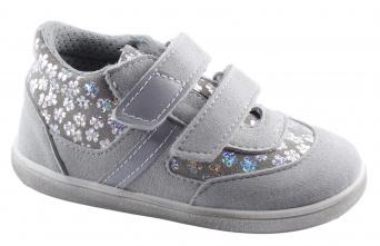 Zvětšit Jonap J051/M/FV light šedá kytičky, celoroční obuv