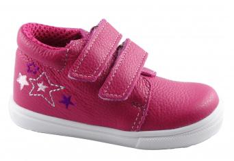 Zvětšit Jonap J022/M/V hvězdy růžová, celoroční obuv