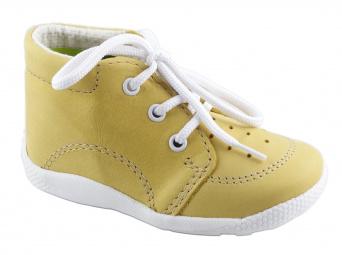 Zvětšit Boots4U první botičky T014 žlutá