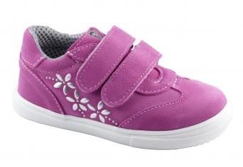Zvětšit Jonap J053/S/květy růžová, celoroční obuv