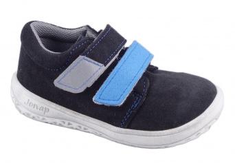 Zvětšit Jonap J-B1/S/V šedá/tyrkys, celoroční obuv BAREFOOT