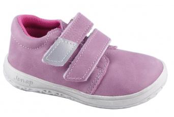Zvětšit Jonap J-B1/M/V růžová, celoroční obuv BAREFOOT