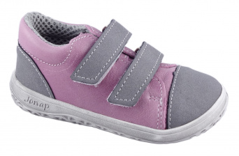Zvětšit Jonap J-B16/M/V růžová, celoroční obuv BAREFOOT