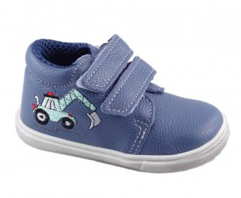 Zvětšit Jonap J022/M/V bagr modrá, dětská celoroční obuv