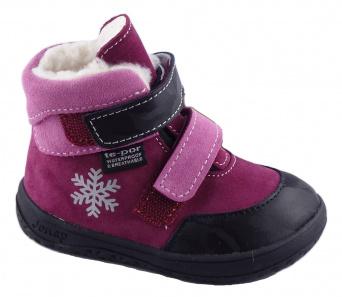 Zvětšit Jonap J-B-Jerry/Z vínová, dětská zimní obuv s membránou