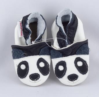 Zvětšit FIORINO ekoTUPTUSIE kožené capáčky - PANDA