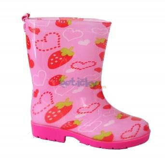 Zvětšit Dětské gumáčky jahody PL29