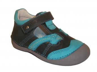 Zvětšit D.D.Step - 015-146 šedá, chlapecká jarní obuv