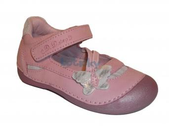 Zvětšit D.D.Step - 015-134 A růžová, dívčí jarní obuv