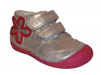 Zvětšit D.D.Step - 015-144 A bílá, dívčí celoroční obuv