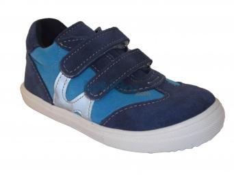 Zvětšit Jonap J053/S modrá/tyrkys, dětská celoroční obuv