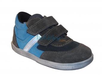 Zvětšit Jonap J051/S/V light šedá/modrá, dětská celoroční obuv
